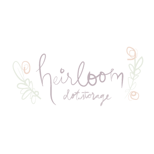 Heirloom.storage logo