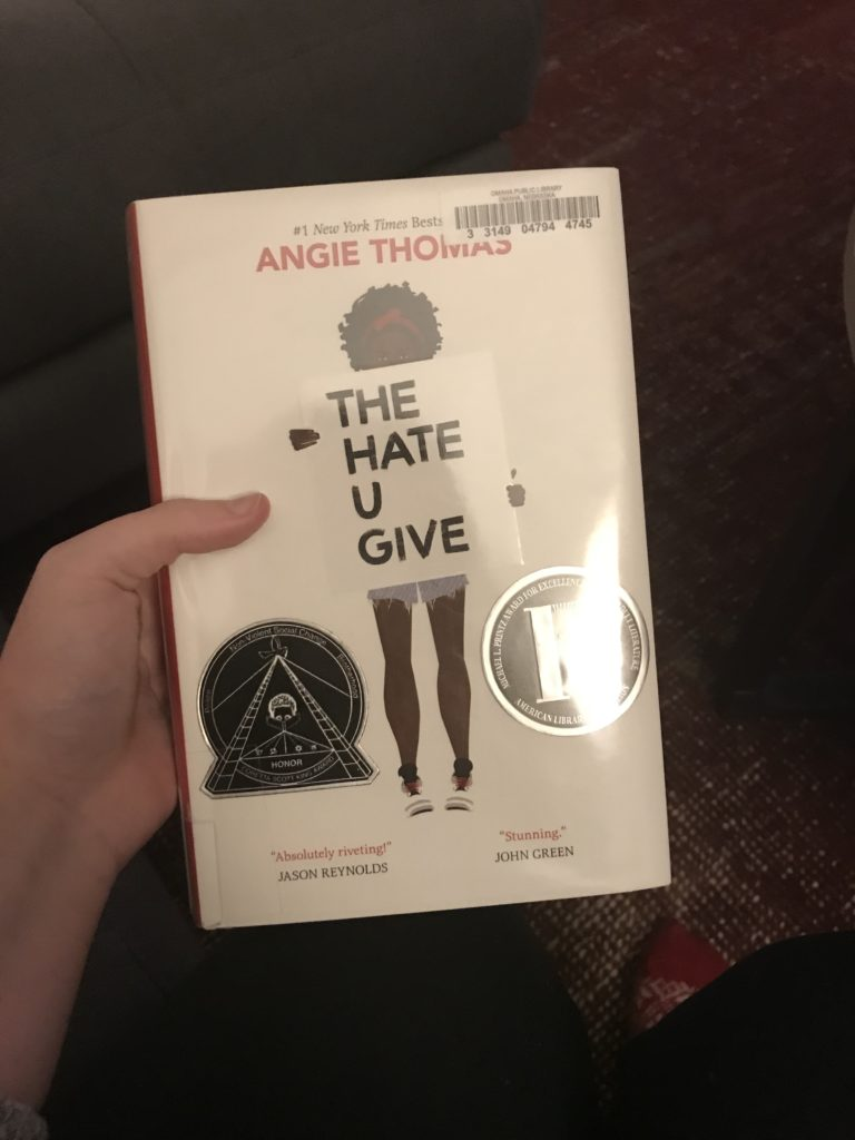 2018 Read: The Hate U Give | Katie Kassel, Graphic & Web Designer
