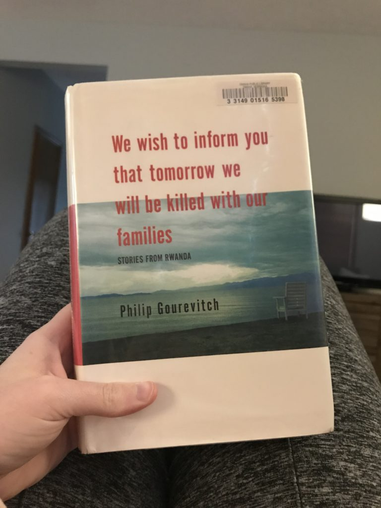 2018 Read: We Wish to Inform You That Tomorrow We Will Be Killed With Our Families | Katie Kassel, Graphic & Web Designer
