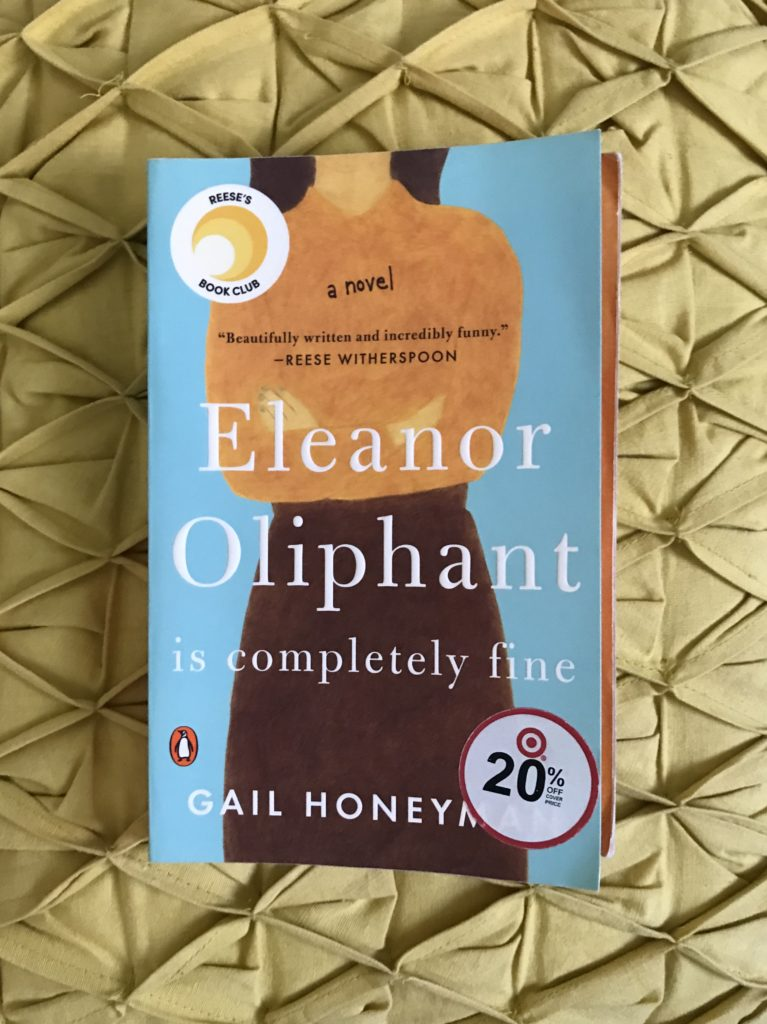 2018 Read: Eleanor Oliphant is Completely Fine | Katie Kassel, Graphic & Web Designer