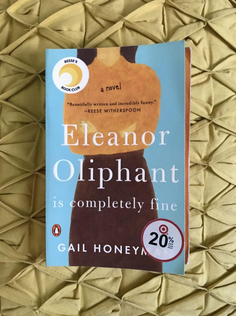 2018 Read: Eleanor Oliphant is Completely Fine | Katie Kassel, Graphic & Web Designer