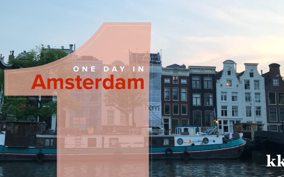 One Day in Amsterdam | Katie Kassel, Graphic & Web Designer