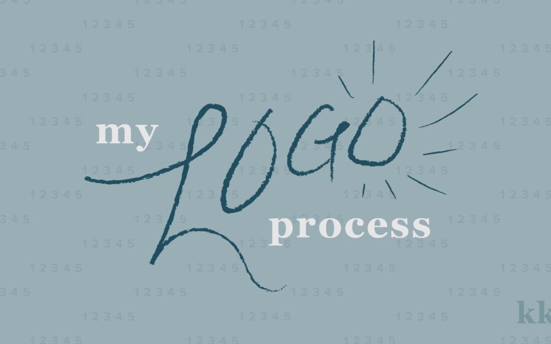 My Logo Process | Katie Kassel, Graphic & Web Designer