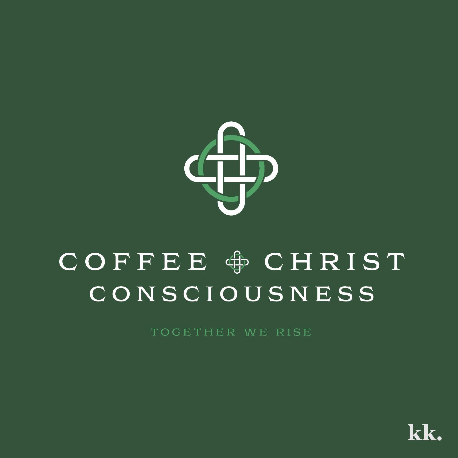 Coffee & Christ Consciousness Logo | Katie Kassel, Kassel Creative
