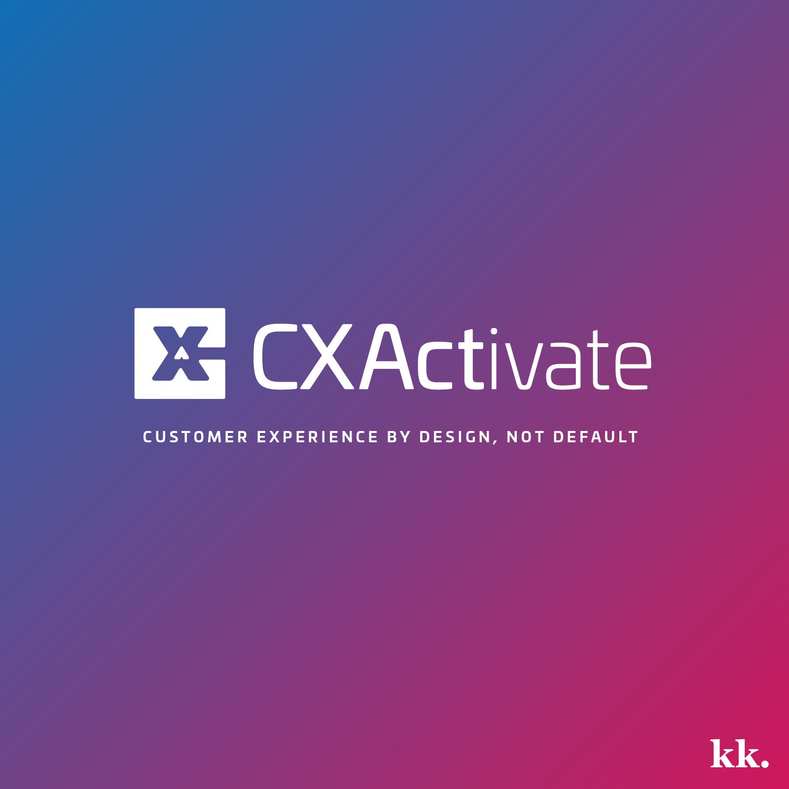 CXActivate Logo | Katie Kassel, Kassel Creative
