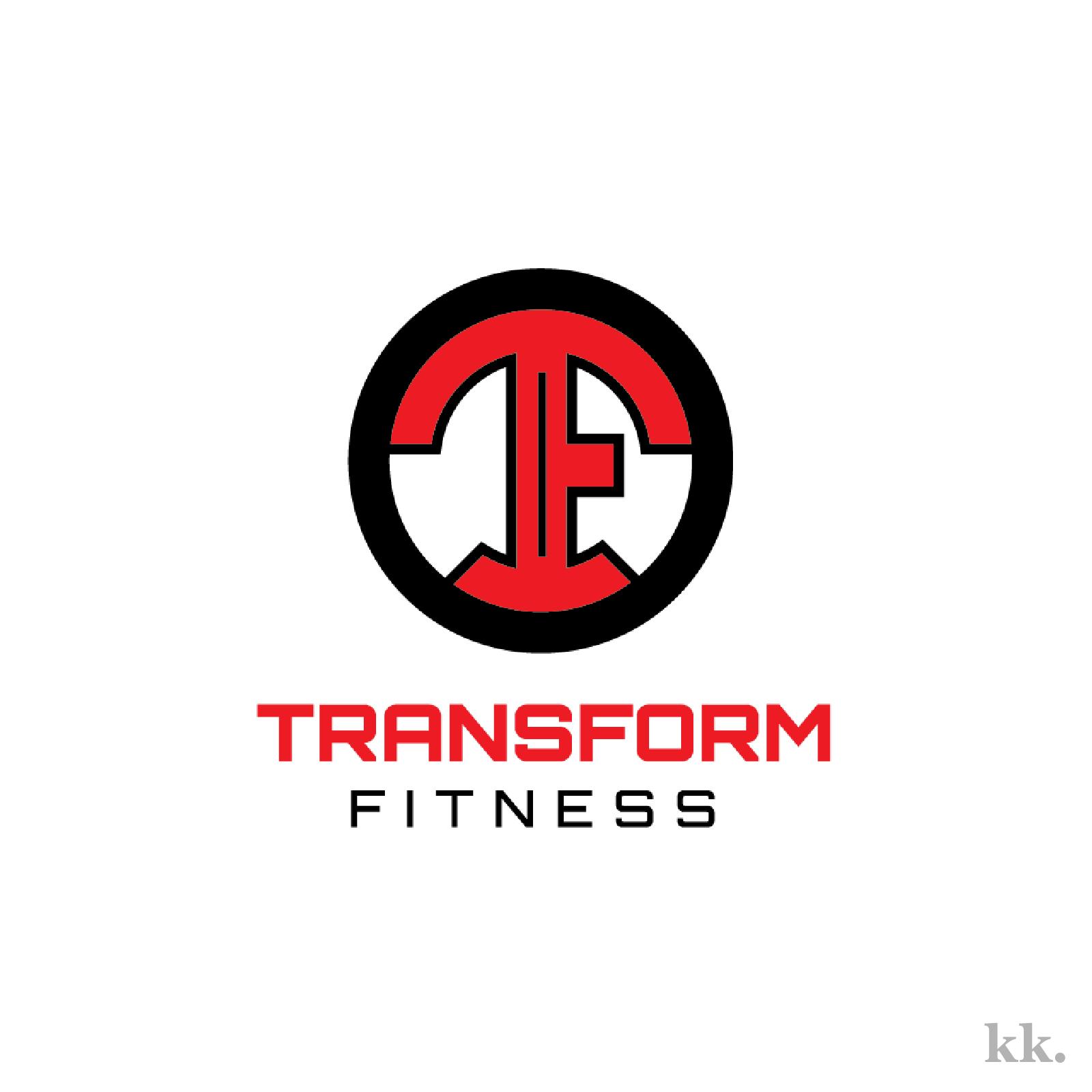 Transform Fitness Logo | Katie Kassel, Kassel Creative